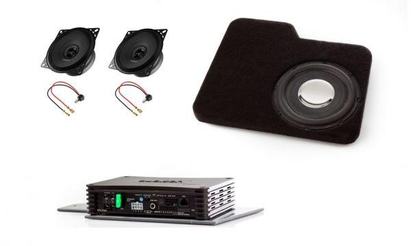 Mercedes SL R107 neue Lautsprecher und Subwoofer nachrüsten