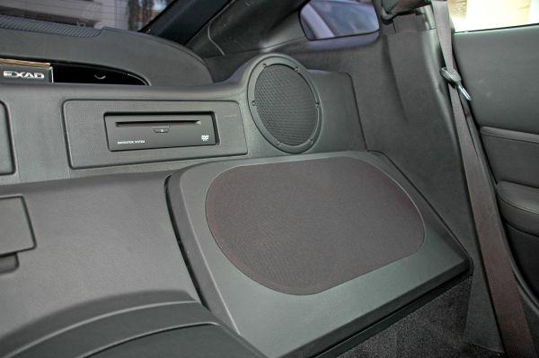 Subwoofer für Nissan 350Z