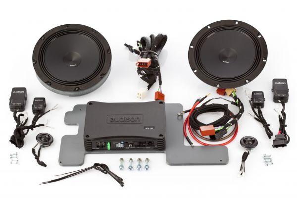 Lautsprecher und Verstärker nachrüsten VW Crafter 2 SZ / SY und MAN TGe