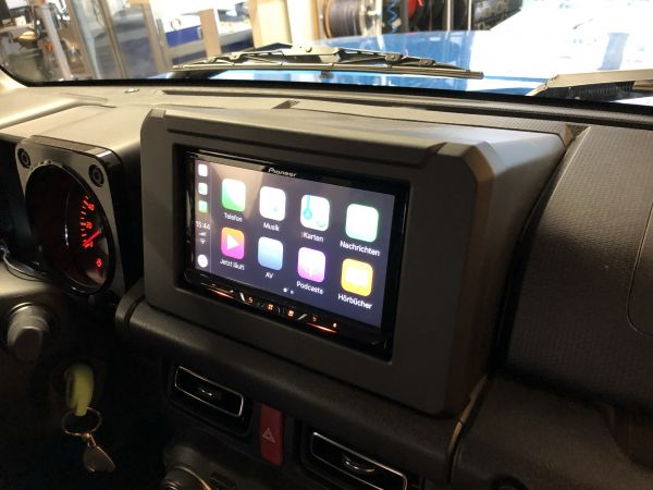Suzuki Jimny GJ 2DIN Radio nachrüsten