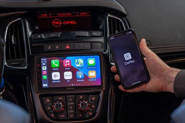 Opel / Vauxhall Cascada 2 DIN Radio Apple CarPlay wireless Android Auto DAB+