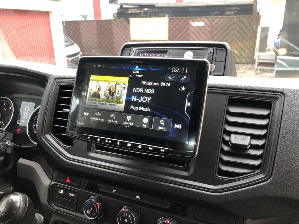 VW Crafter 2 Navigationsgerät nachrüsten