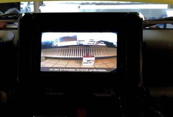 Frontkamera nachrüsten Suzuki Jimny GJ